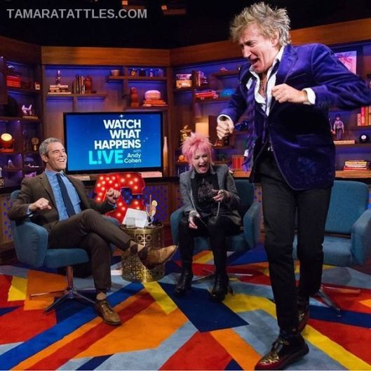 WWHL With Cyndi Lauper and Rod Stewart