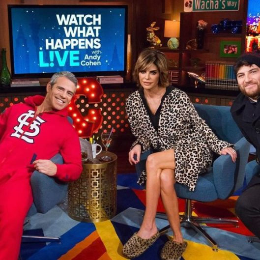 WWHL With Lisa Rinna And Adam Pally