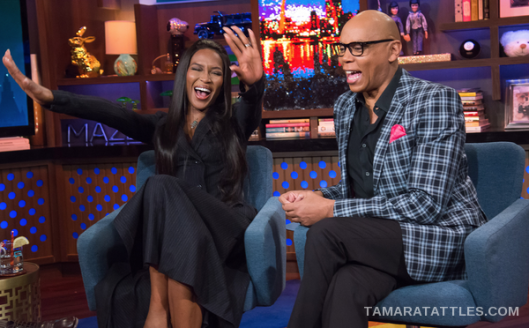 WWHL With RuPaul and Naomi Campbell