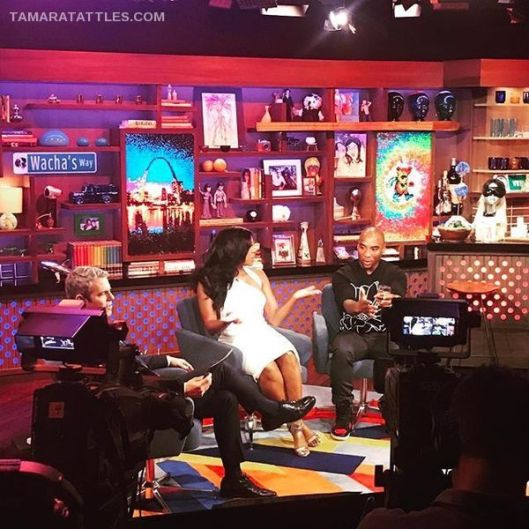 WWHL With Porsha Williams And Charlamagne Tha God