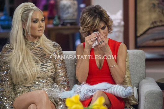 Kim Richards Makes Things Awkward at the RHOBH Reunion, AGAIN.