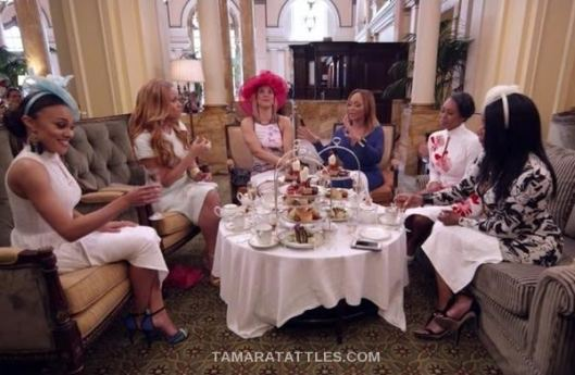 Real Housewives of Potomac:  All Tea, All Shade