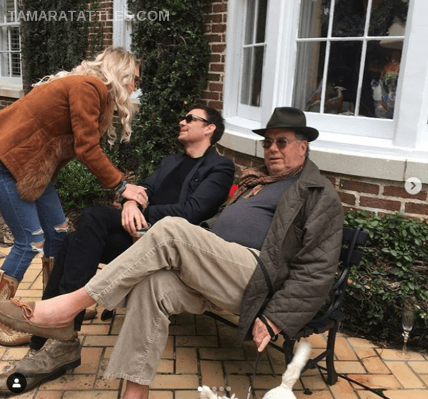 Southern Charm Season Six Eliza Limehouse greets Whitney Sudler-Smith and Buck Limehouse
