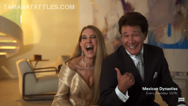Fernando and Mari Allendes laughing together