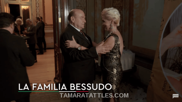 Raquel Bessudo is greeted at the party