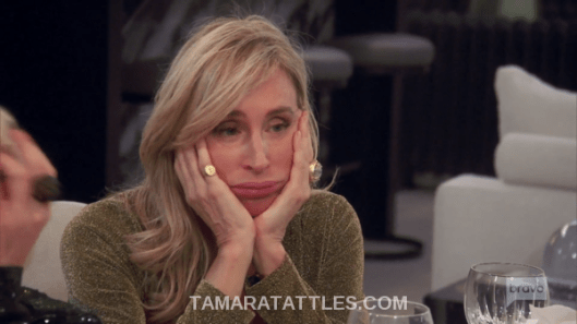 RHONY Recap Sonja Morgan sad face