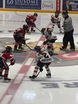 Barrie hockey team sponsorships