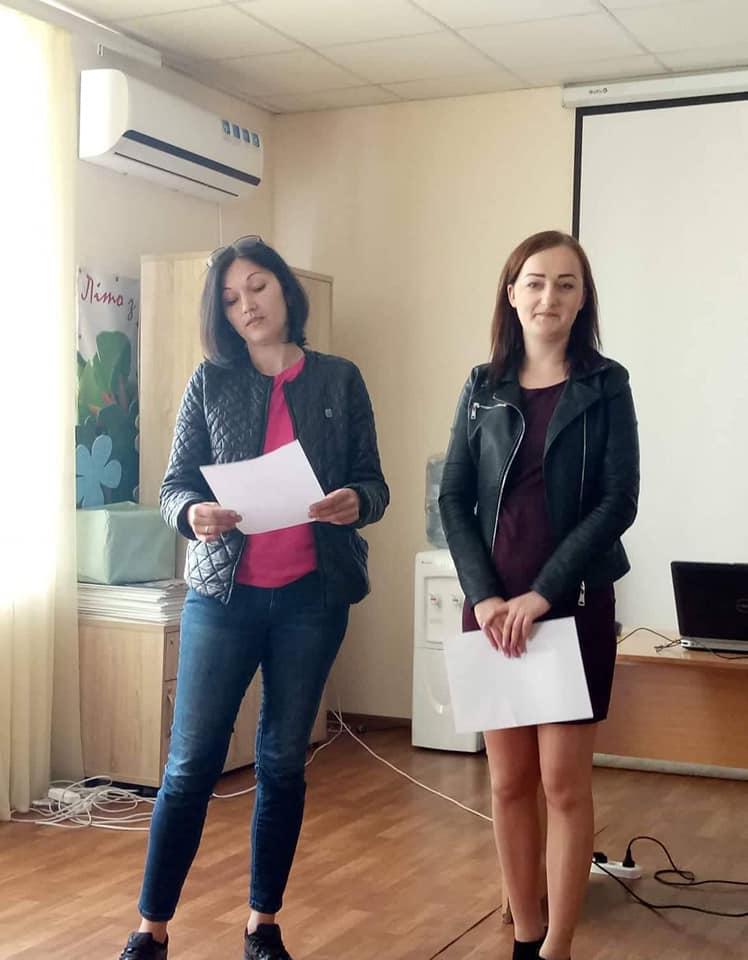 Підгородне та Новомиколаївка вчилися розробляти інформаційні кампанії