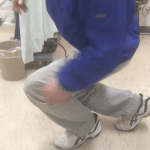 左膝カックンのお父さんも感動のエネルギー治療