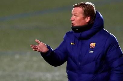 """Koeman: """"El Barça de hoy no es el Barça de hace ocho años"""""""