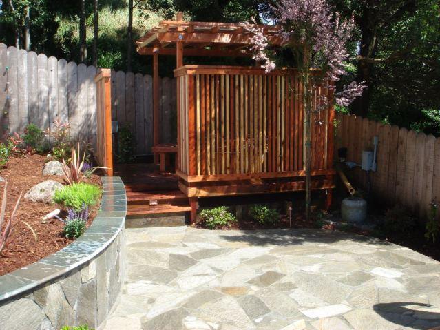 outdoor paver patio construction