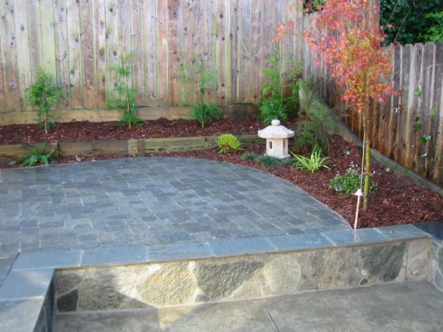 asian style patio minimalistic