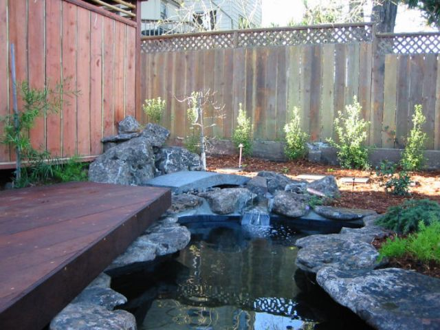 backyard pod design and construction with deck