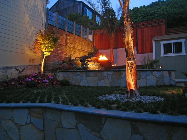 outdoor lighting design installation san francisco