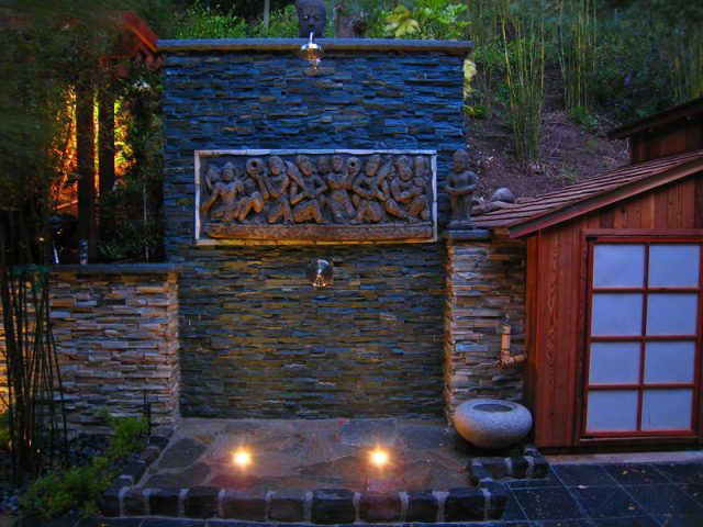 asian style wall outdoor lighting