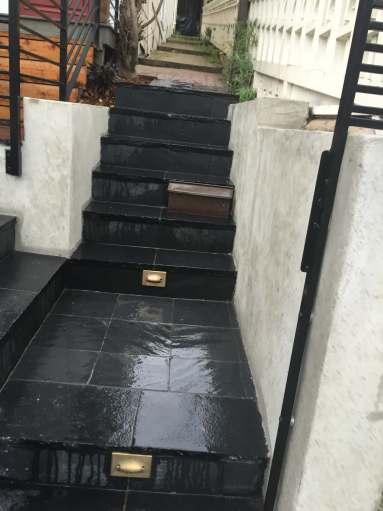 Limestone Steps