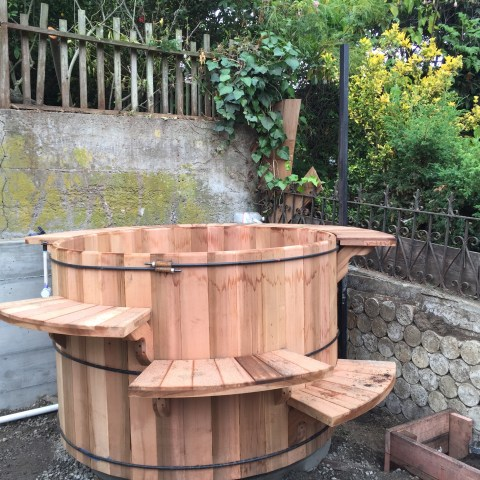 Bernal Heights, Finished Cedar Tub