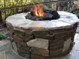 Stonework Firepit