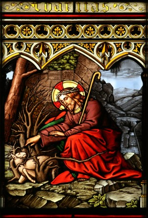 Jesus_Rescuing_a_Lamb_Caught_in_Thorns