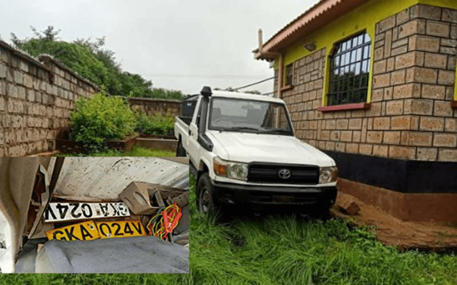 Police Missing Land cruiser Found in Mwingi.