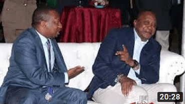 TOPIC: Is Uhuru Behind Sonko's Arrest