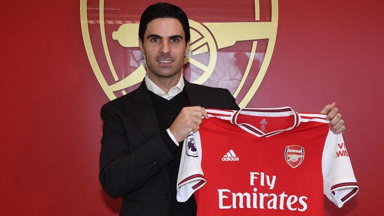 Sports : Mikel Arteta appointed Arsenal head coach