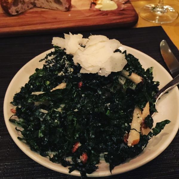Kale Salad w/Pears