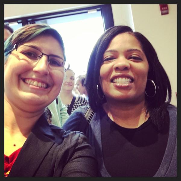 Selfie with Karena at Book Riot Live
