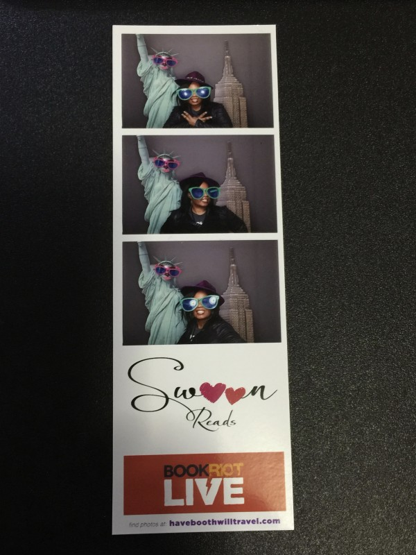 Photo Booth at Book Riot Live