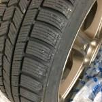 スタッドレスタイヤの韓国製NEXENをレガシィツーリングワゴンに装着すると