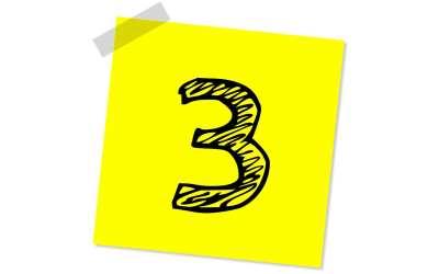 Step Three of TAME's 5-Step Program