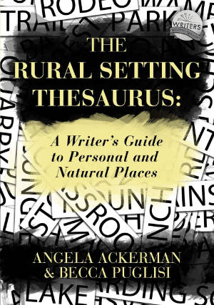Books for Writers - The Rural Setting Thesaurus by Angela Ackerman and Becca Puglisi