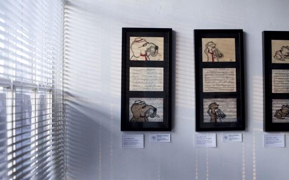 Framed Original Process Pieces