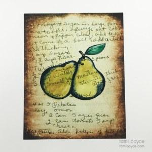 Pears, Kitchen Series