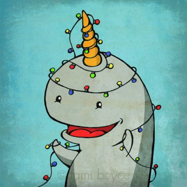 Narwhal and lights