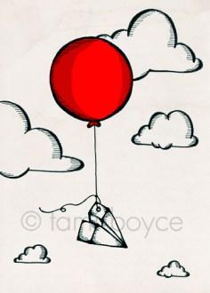 balloon_paper plane