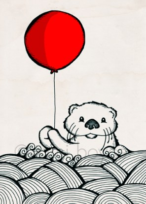 balloon_sea otter