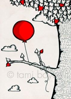 balloon tree limb