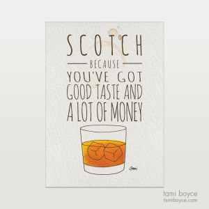 scotch good taste drink series