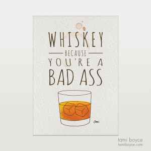 whisky bad ass drink series