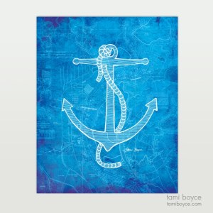 Anchor, aquatic series