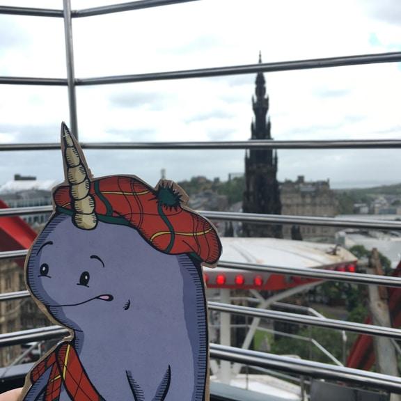 Mort in Edinburgh, the Terrifying Ferris Wheel