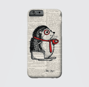 Hedgehog Phone Case