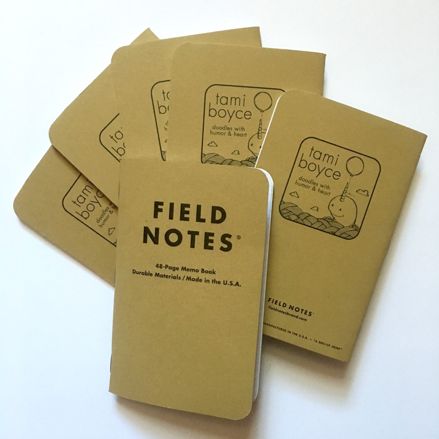 Narwhal Field Note Notebooks