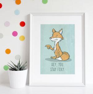 Fox, Stay Foxy you do you stylized