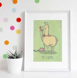 Llama, Yo Llama you do you stylized