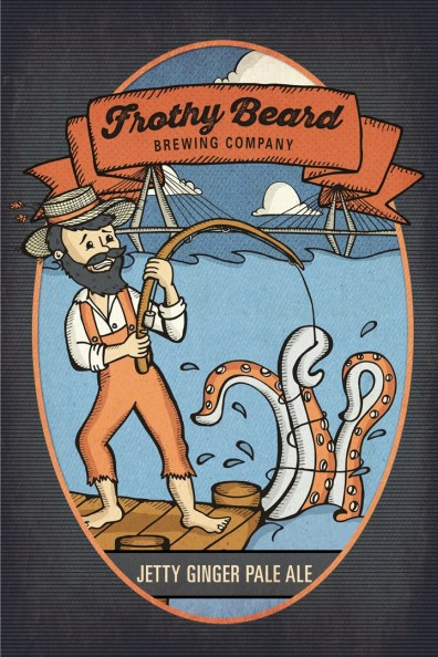 Jetty Ginger PA Poster