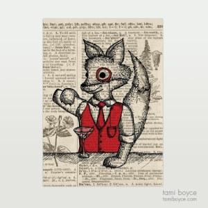 "Fox, ""Jinx"", Monocle"