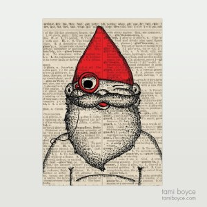 "Gnome, ""Nolan"", Monocle"