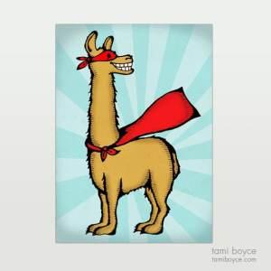 Llama, Superhero Series